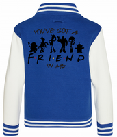 FRIEND IN ME VARSITY - INSPIRED BY TOY STORY WOODY BUZZ FRIENDS